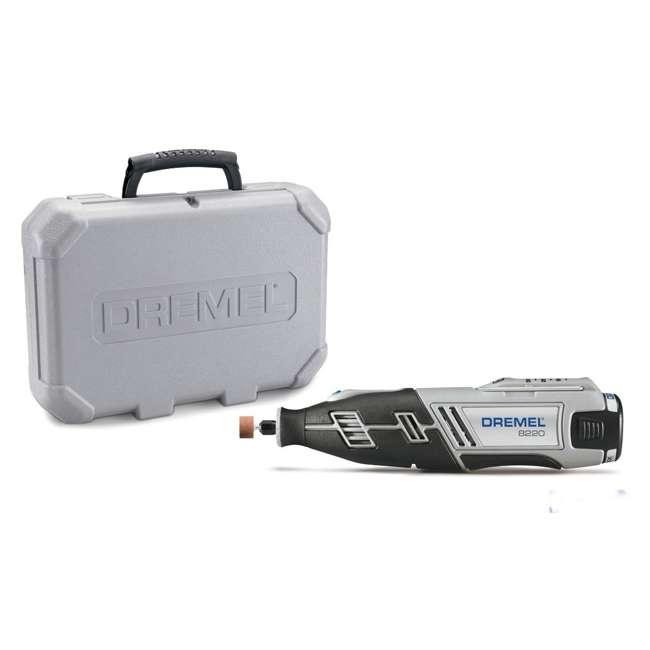 8220-DR-RT-RB Dremel Cordless High Performance Rotary Tool Kit (Refurbished) | 8220  1