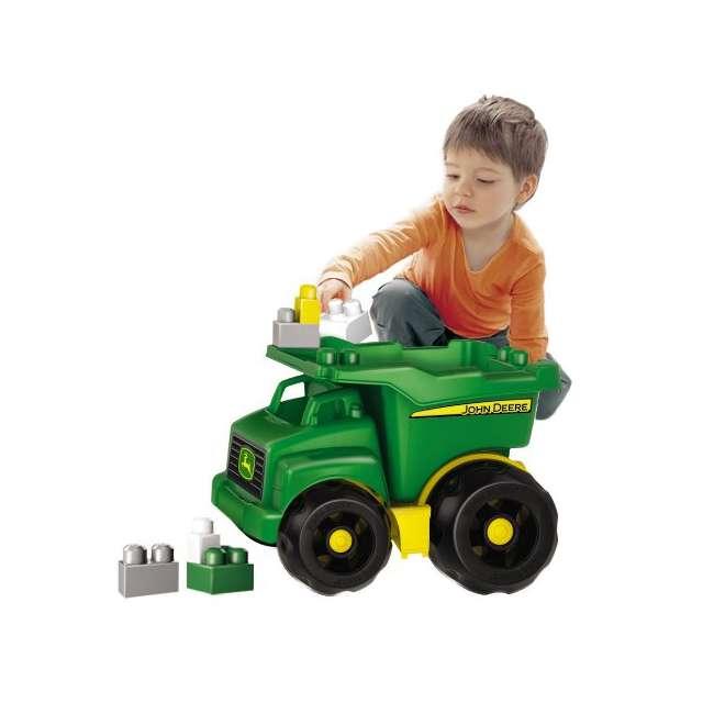 DBL30 Mega Bloks John Deere Dump Truck 4