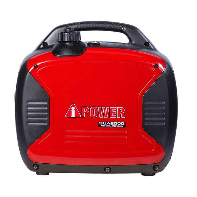 SUA2000i A-iPower SUA2000i Super Quiet 1600-Watt Portable Digital Inverter Gas Generator