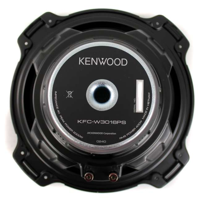 KFC-W3016PS + QBASS12 Kenwood 12-inch 2000 Watt Car Subwoofer (Pair) + Q Power Dual 12-inch Vented Port Sub Enclosure Box 3
