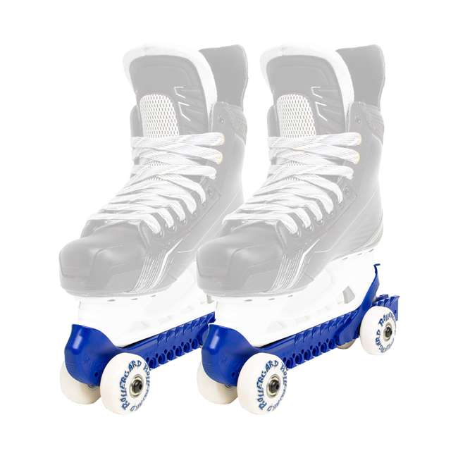0G144400T83-L + 44374-BL Rollerblade Bladerunner Micro Ice Skates, Large, and Skate Guard Rollers (Pair) 4