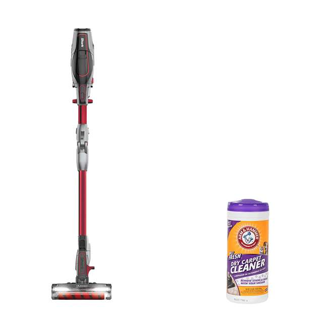 IC205_EGB-RB + 64113B Shark IONFlex Vacuum (Cert Refurb) + Arm & Hammer Cleaner