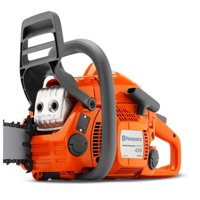 967650802 - Old Husqvarna 435 E-Series 16-Inch Smart Start Chainsaw (2 Pack) 2