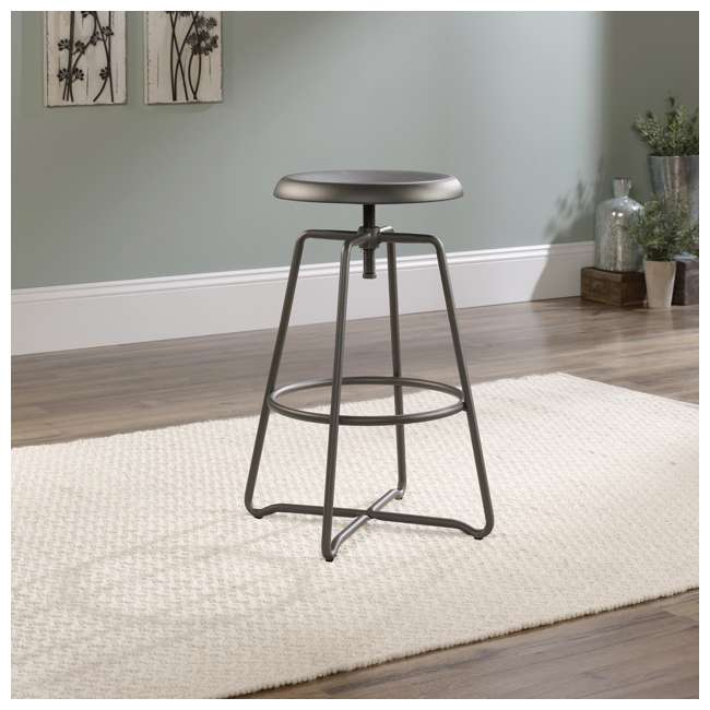 Sauder Furniture Cannery Bridge Gray Counter Height Stool