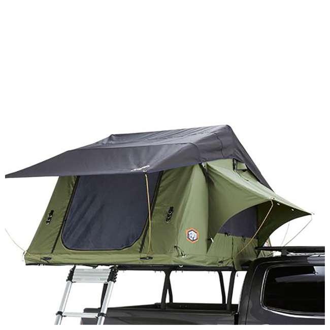 01KRG051606 + 1060001 Tepui Kukenam Ruggedized Sky 3 Person Outdoor Roof Top Tent & Hydraulic Jack 4