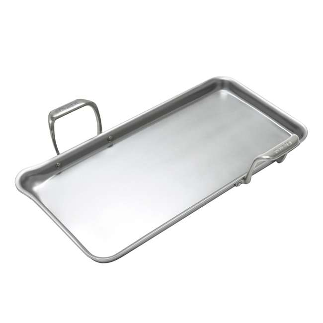 SLT60-48-U-A Chantal 19 x 9.5 In Stainless Steel Heavy Gauge Tri Ply Griddle Pan (Open Box)