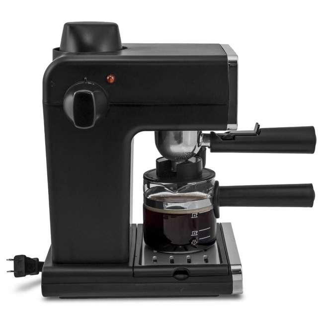 BVMC-ECM260 Mr. Coffee BVMC-ECM260 Steam Espresso Machine Frother, Stainless Steel/Black 1