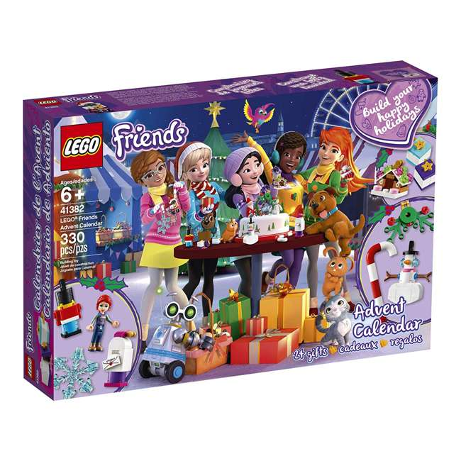 6251675 LEGO Friends 41382 2019 Advent Calendar Building Kit w/ 1 Mia Mini-Doll Figure 2