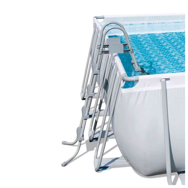 "56628E-BW-U-A Bestway 16'x48"" Square Frame Above Ground Pool w/ Ladder & Filter Pump(Open Box) 2"
