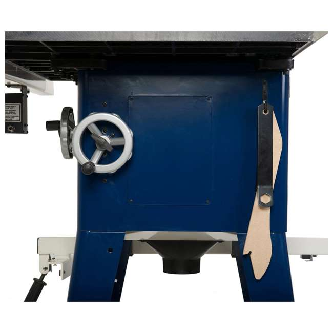 10-201 RIKON  Power Tools Cast Iron Contractors Left Tilt Table Saw, 10 Inch 6