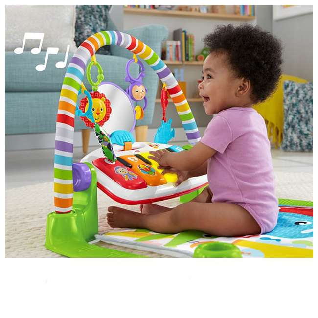 FGG45 Deluxe Kick & Play Piano Gym 3