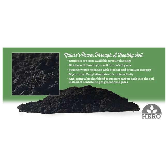 WFHERO-CMP-1LB Wakefield HERO Blend 1.5 Lb Biochar Organic Garden Compost w/ Mycorrhizal Fungi 5
