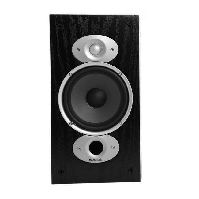 Polk Audio RTi A3 150 Watt Black Bookshelf Speakers Pair Refurbished