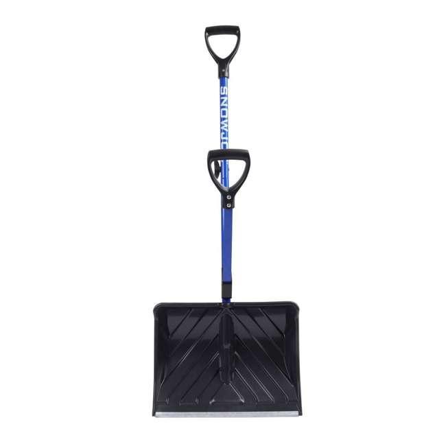 SNJ-SJ-SHLV01 Snow Joe Snow Shovel with Spring Assisted Handle 1