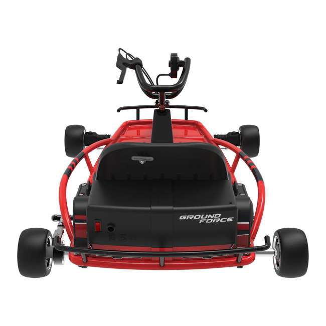 25141058-U-C Razor Ground Force 24V Electric Go Kart, up to 12 MPH, Red (For Parts) 2