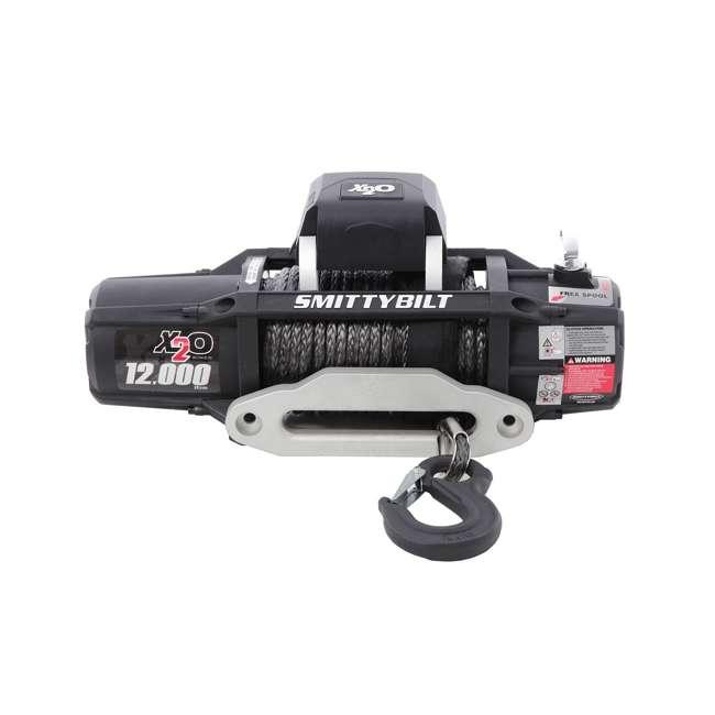 98512-SMITTYBILT Smittybilt X2O Gen2 12,000-Pound Wireless Waterproof Winch 2