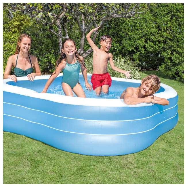 Intex Swim Center 90 Quot X 90 Quot X 22 Quot Inflatable Family