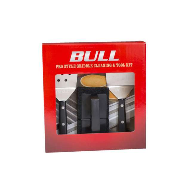 BOPA-24285 Bull Pro Style Griddle Cleaning and Tool Set