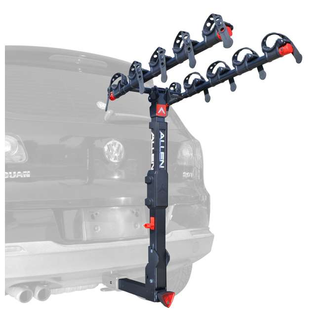 QR555-U-C Allen Sports Premier 5 Bike Locking 2 Inch Hitch Carrier (For Parts)