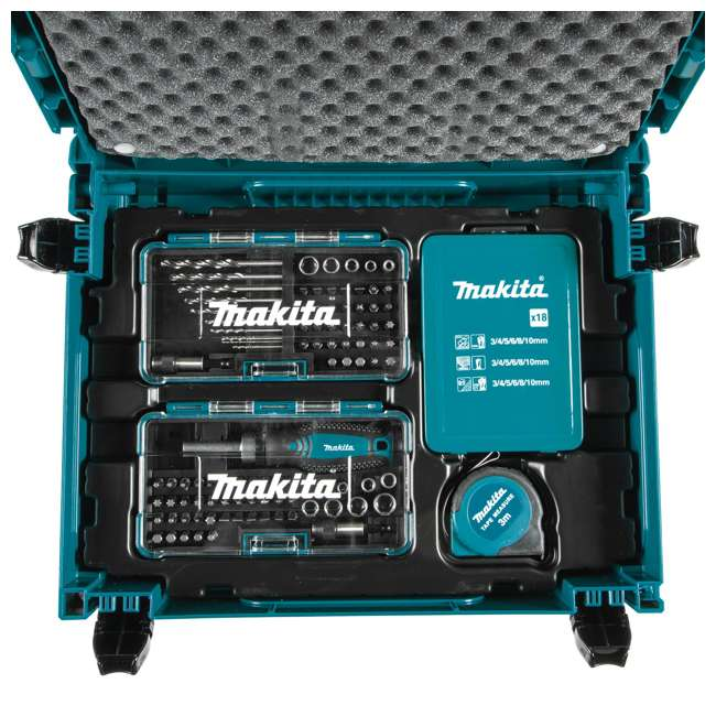 B-49884-U-A Makita 116 Piece Drilling Fastening Metric Bit Hand Tool Set (Open Box) 1