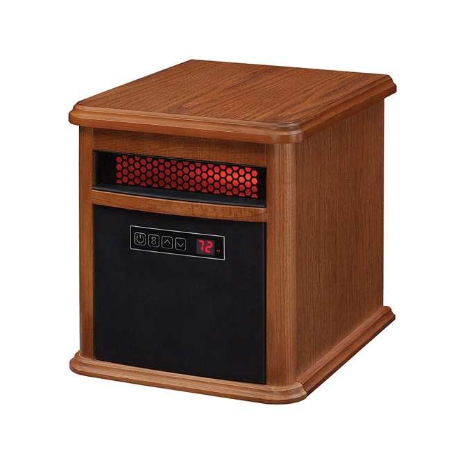 9HM9126-O142 Duraflame 1500 Watt 5200 BTU Portable Electric Infrared Quartz Room Space Heater 3