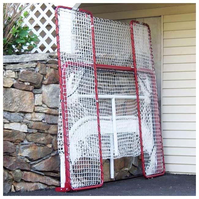 NEOP-67008 EZ Goal Regulation-Size Folding Hockey Goal with Backstop (2 Pack) 5