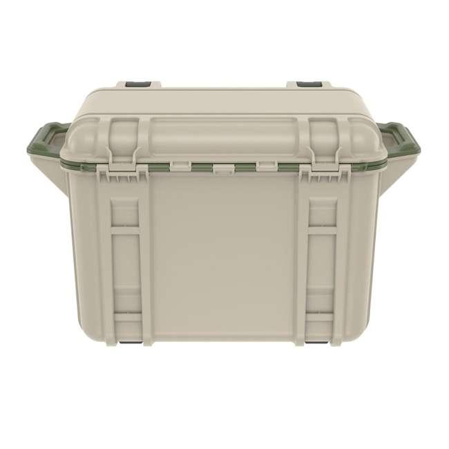 77-54463 Otterbox Venture Heavy Duty Outdoor Camping Fishing Cooler 45-Quarts, Tan/Green 4