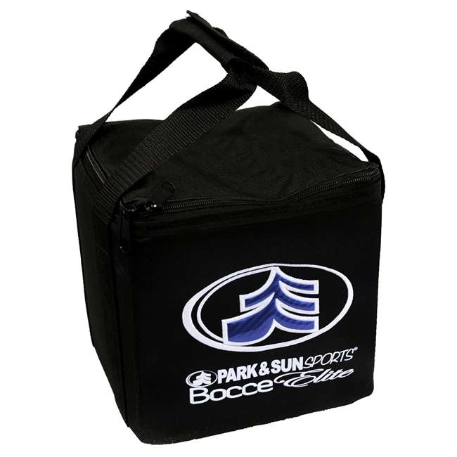 BB-109E Park & Sun Sports Bocce Elite Pro 109mm Set with Carrying Bag 6