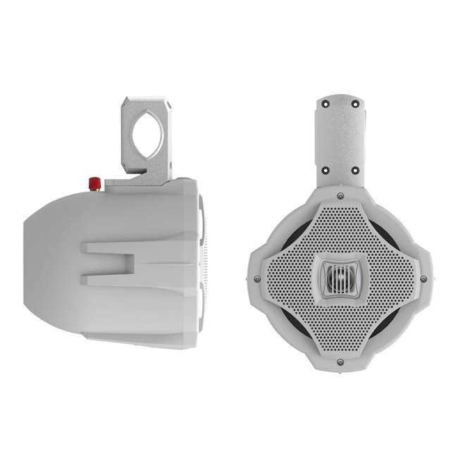 AQWB65W Lanzar AQWB65W 6.5-Inch 50W 2-Way Marine Wake Board/Tower Speaker - White (Pair)
