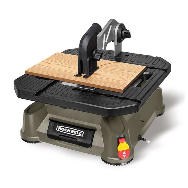 RK7323-U-A Rockwell Bladerunner Tabletop Table Saw Scroll, Rip, and Miter Tool (Open Box)