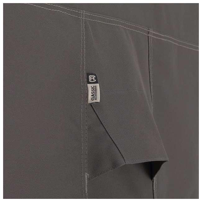 55-163-045101-EC-U-A Classic Accessories Ravenna Patio Chaise Lounge Cover, Dark Taupe (Open Box) 7