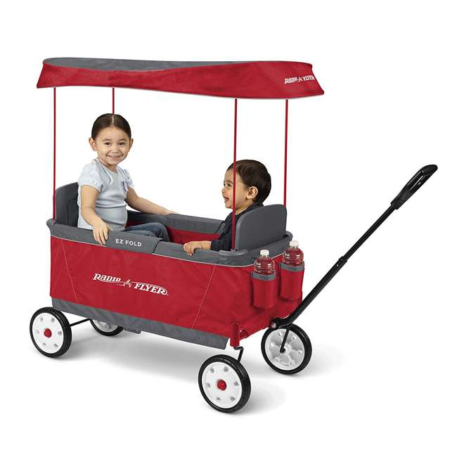 3900X Radio Flyer 2 Passenger Ultimate EZ Folding Wagon 1