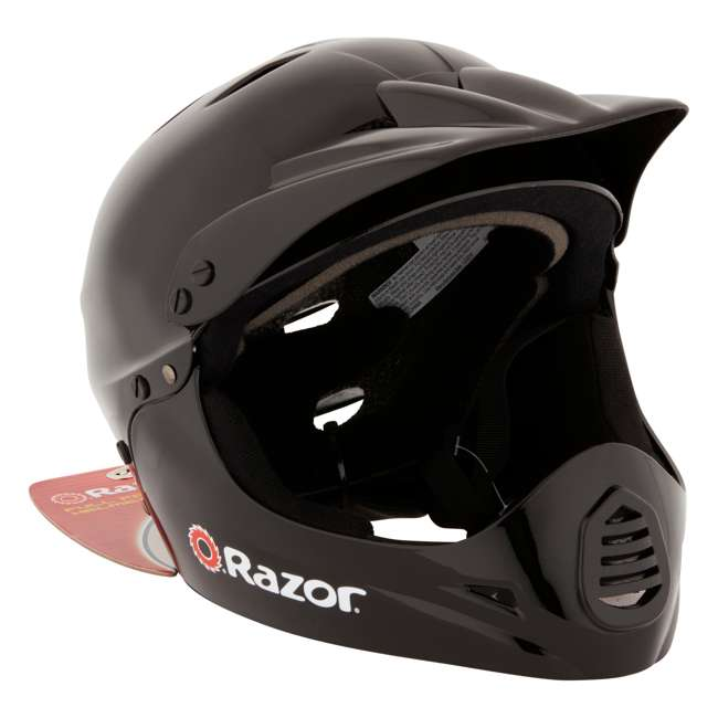 15128008 + 97775 Razor MX400 Dirt Rocket Electric Motorcycle, White + Helmet 8