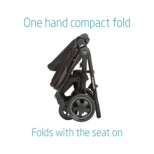 CV371ETL Maxi-Cosi Adorra Forward or Rear Facing Modular Folding Stroller, Nomad Gray 3