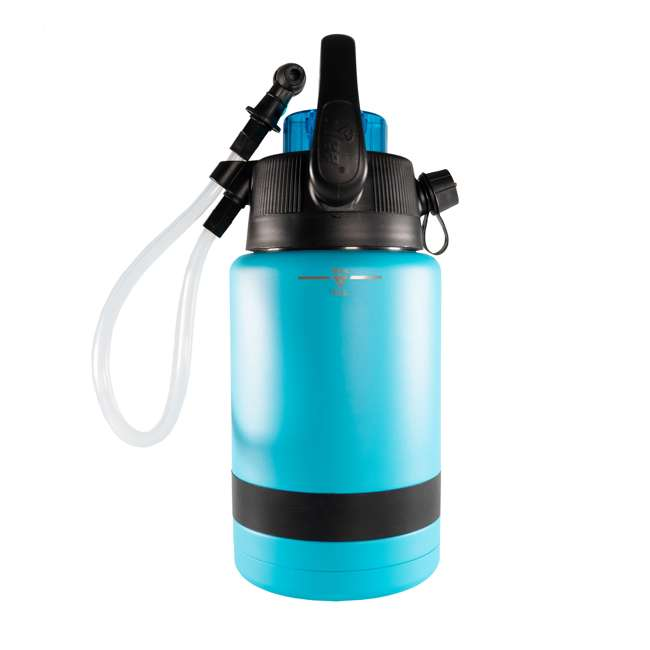 TPF-518735 nICE Coolers Pump2Pour 1 Gallon Insulated Jug with Hose and Spout, Miami Blue 2