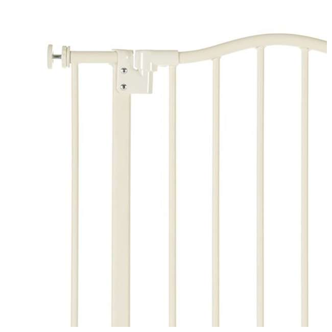 4978 North States Portico Arch Tall & Wide Baby Safety Gate, Linen 1
