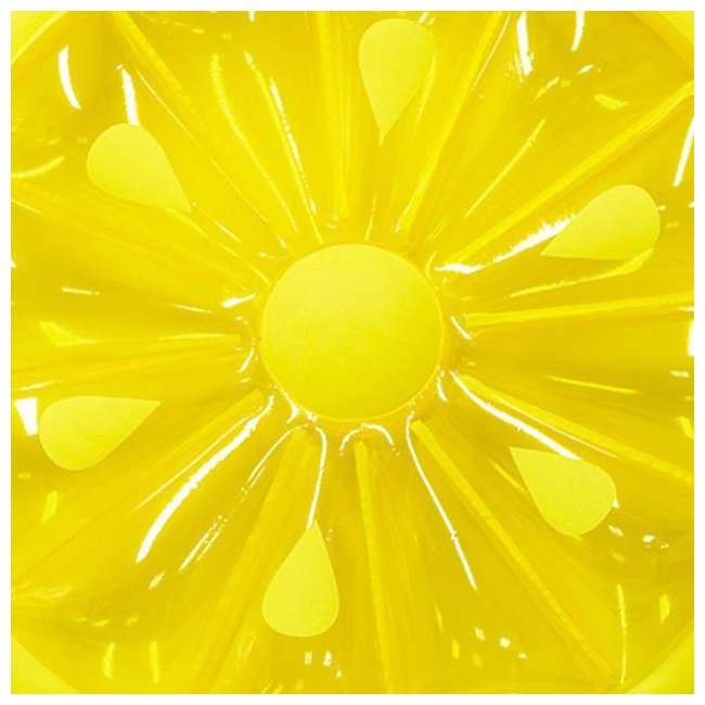 9054O + 9054Y Swimline 60-Inch Inflatable Orange & Lemon Slice Float 6