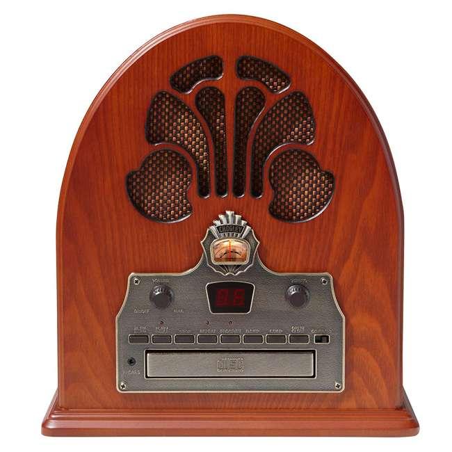 CR32CD Crosley Retro Cathedral AM/FM Radio CD Player 2