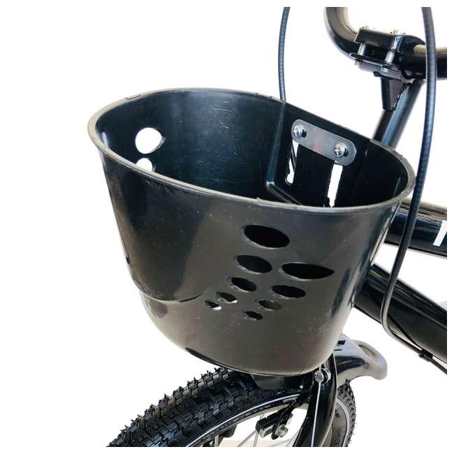 14BK-BLK NextGen 14 Inch Childrens Kids Bike Bicycle with Training Wheels & Basket, Black 3