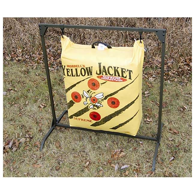 H60450 Hurricane H-20 Deer Archery Target w/ HME Bowhunting 30 Inch Bag Target Stand 5