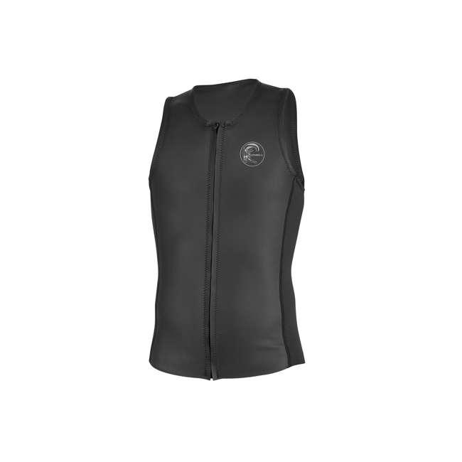 5079-A00-M O'Riginal 2 MM Front Full Zip Neoprene Vest, Medium