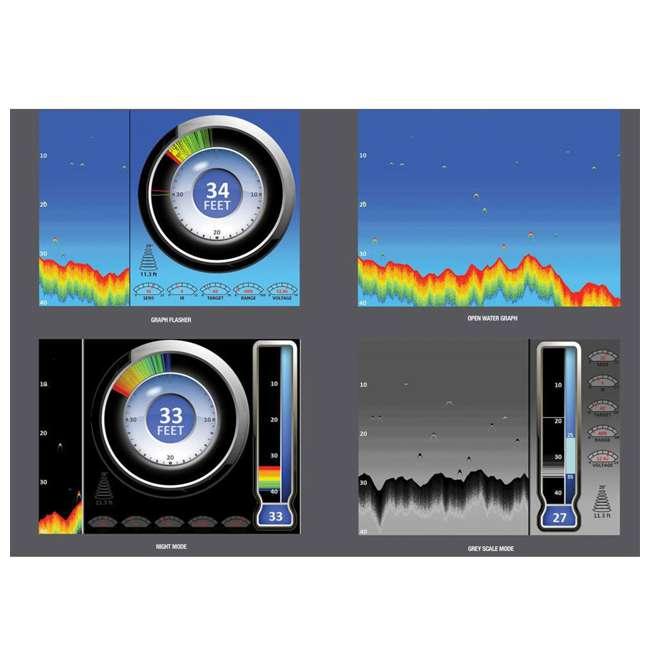 MARCUM-LX-7LI MarCum Ice Fishing Digital Lithium Combo System 6