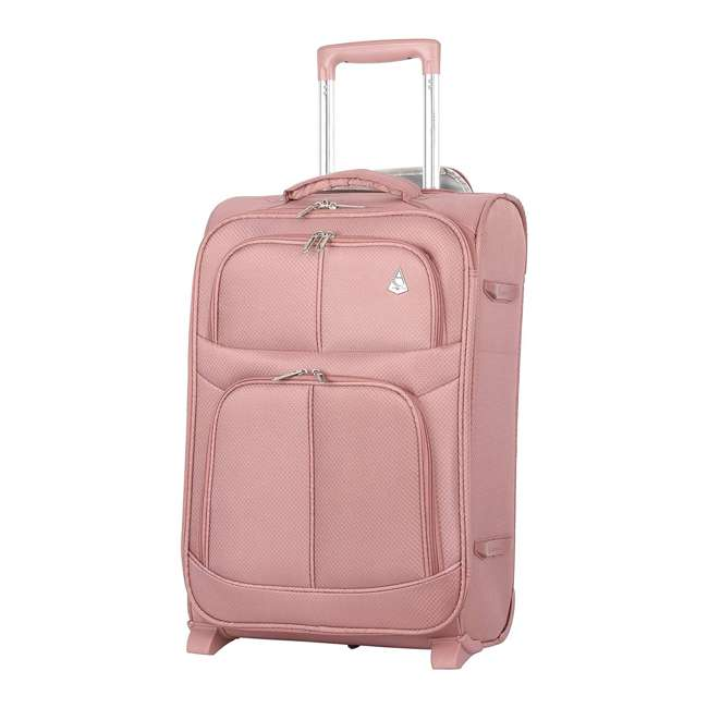 AERO9611-ROSEGOLD-22 FBA Aerolite Maximum Allowance Durable Airline Approved Carryon Suitcase, Rose Gold