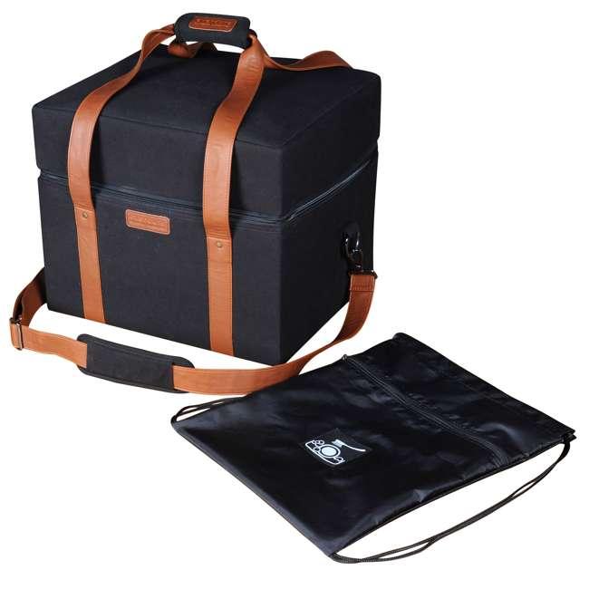 HBCUBEBAG Everdure Cube Portable Charcoal Barbeque Grill Carrier Travel Bag, Black  2