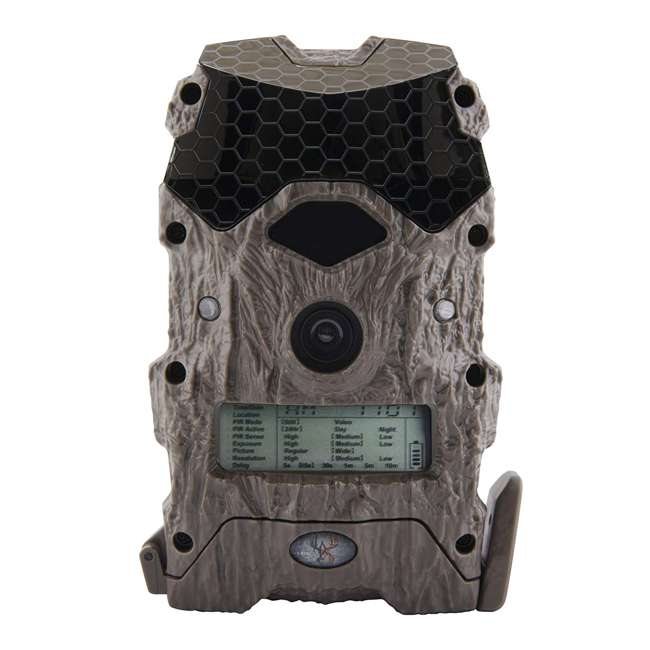 3 x WGICM0557 Wildgame Innovations Mirage Series No Glow 16 MP Outdoor Camera, Green (3 Pack) 1