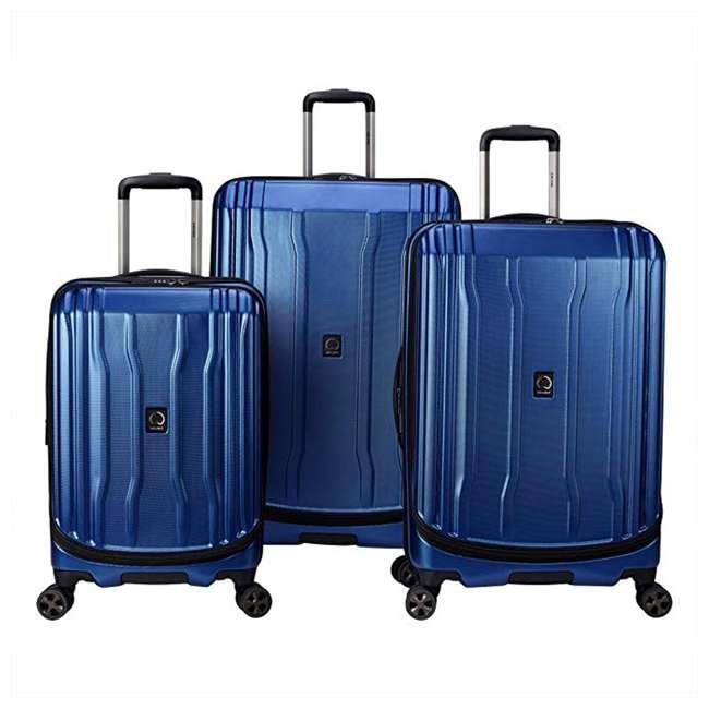 "40207998702 DELSEY Paris Cruise Lite Hardside 2.0 Carry On, 25"", & 29"" Suitcase Luggage Set"