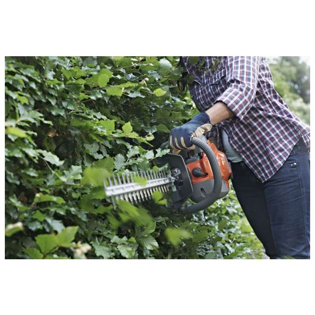 "966808302-BRC-RB-U-C Husqvarna 18"" 22cc Gas Powered Hedge/Clipper Saw Trimmer(Refurbished)(For Parts) 4"
