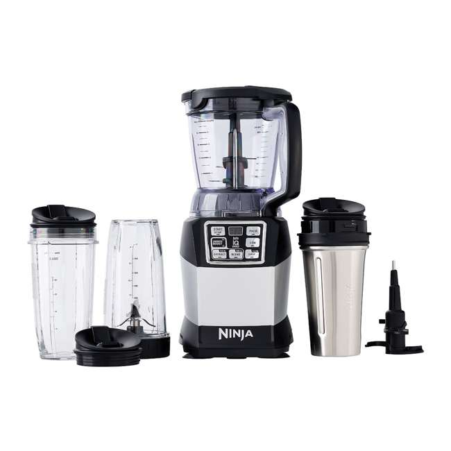 BL492-U-A Ninja Auto-IQ Nutri Ninja 40 Ounce Smooth Boost Blender System (Open Box)