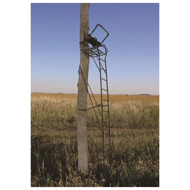 BGM-LS0550 Big Game LS0550 Hunter HD 1.5 Deer Hunting 18.5 Foot 1 Person Ladder Tree Stand 1