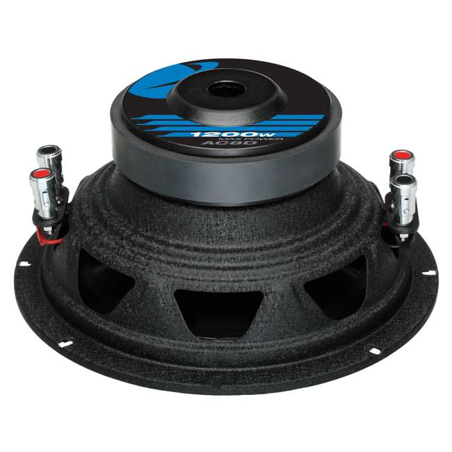 AC8D + AC26002 Planet Audio AC8D 8-Inch 2400W Subwoofers + 2600W Amplifier (Package) 3